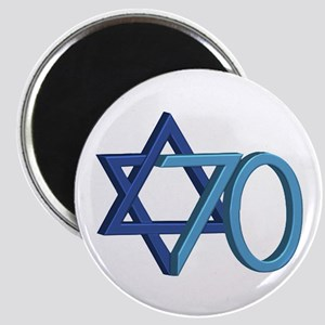 Israel Turns 70! Magnet Magnets
