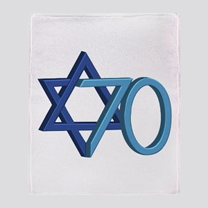 Israel Turns 70! Throw Blanket