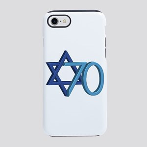 Israel Turns 70! iPhone 8/7 Tough Case
