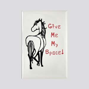 Alpha Mare Horse Rectangle Magnet