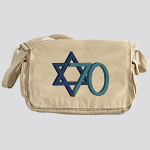 Israel Turns 70! Messenger Bag