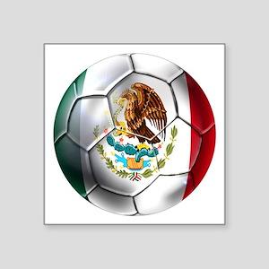 Mexican Soccer Ball Sticker