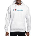 I Love Yosemite Blue - Hooded Sweatshirt