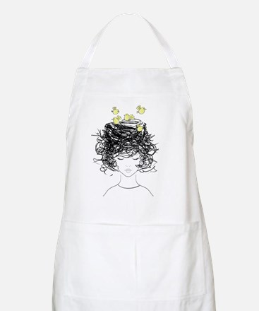 Cute Curlers Light Apron