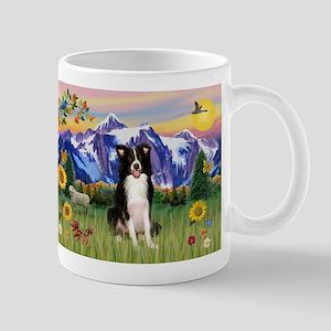 Mt Country & Border Collie Mug
