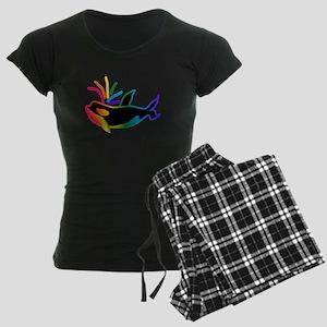 Rainbow Orca Pajamas