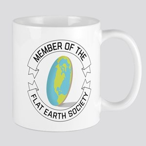 Flat Earth Society 11 oz Ceramic Mug