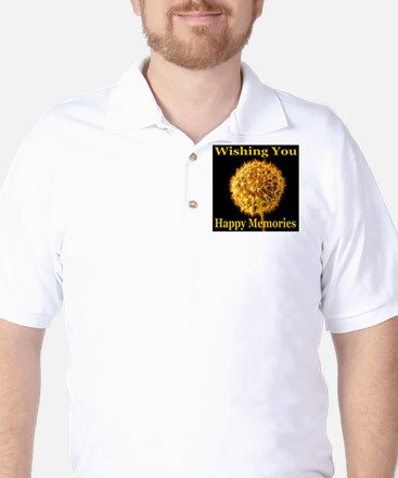 Wishing You Happy Memories Golf Shirt
