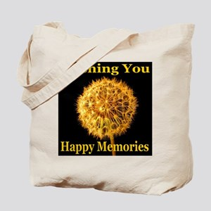 Wishing You Happy Memories Tote Bag