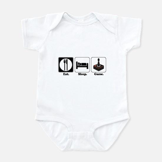 Eat. Sleep. Game. (Gamer/Video Games) Infant Bodys