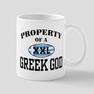 Property of a Greek God Mug