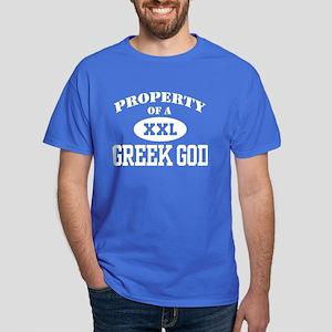 Property of a Greek God Dark T-Shirt