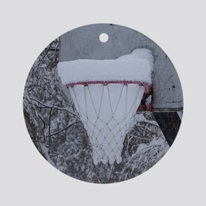 Basketball Round Ornament