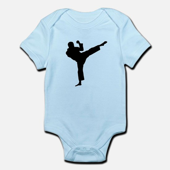 Roundhouse Kick Infant Bodysuit
