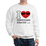 I Love Newport Beach Sweatshirt