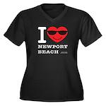 I Love Newport Beach Plus Size T-Shirt