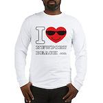I Love Newport Beach Long Sleeve T-Shirt