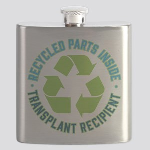 Recycled Parts Inside Flask