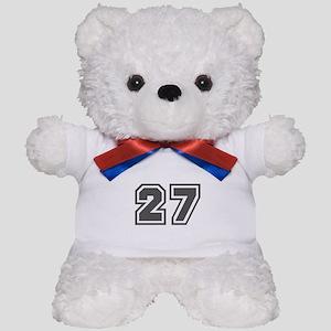 Number 27 Teddy Bear
