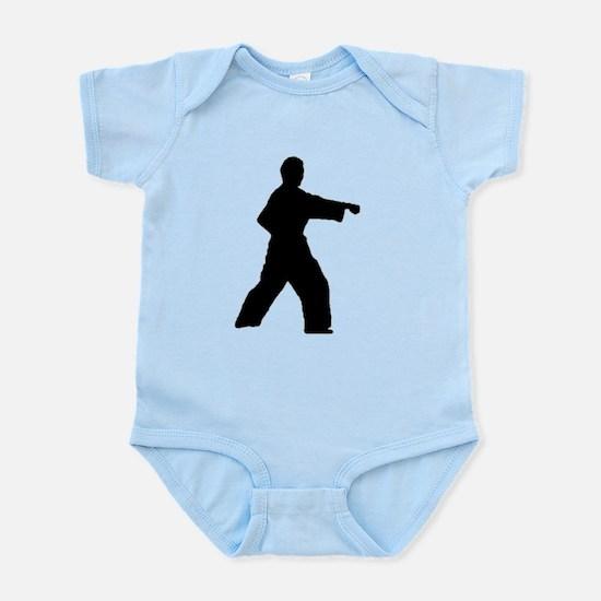 Straight Punch Infant Bodysuit