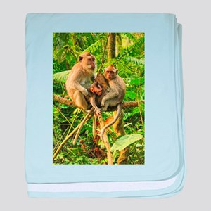 Togetherness on a Branch baby blanket