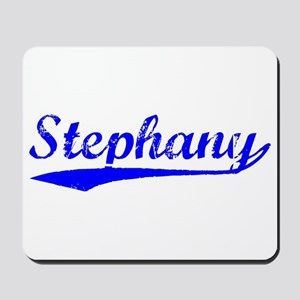 Vintage Stephany (Blue) Mousepad