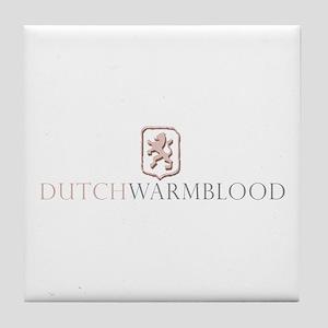 Dutch Warmblood Tile Coaster
