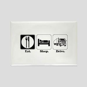 Eat. Sleep. Drive. (Truck Driver) Rectangle Magnet