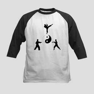 Karate Balance Kids Baseball Jersey