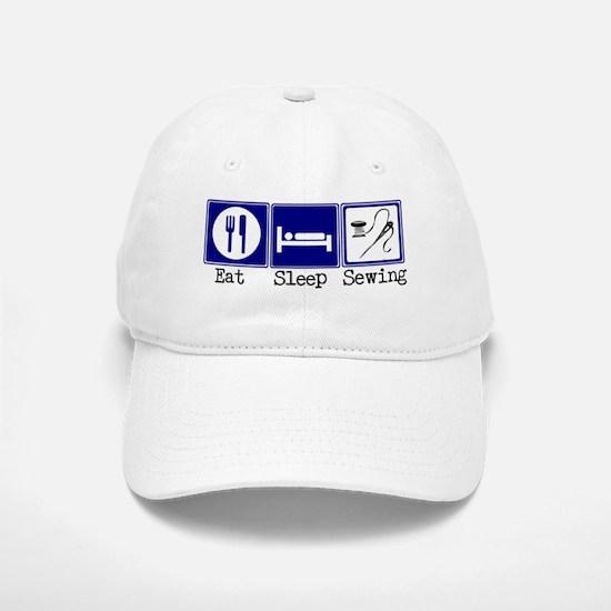 Eat, Sleeping, Sewing Baseball Baseball Cap