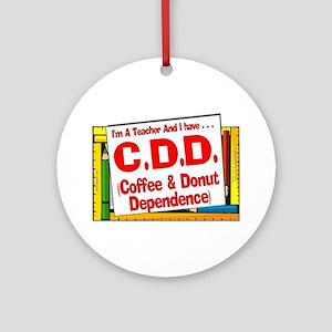C&DD! (Red) Ornament (Round)