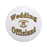 American Assn Wedding Officiants Ornament (Round)