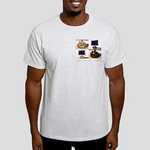 iMac therefore iMod Ash Grey T-Shirt