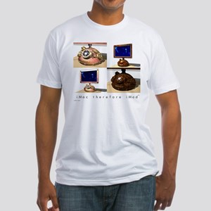 iMac therefore iMod Fitted T-Shirt
