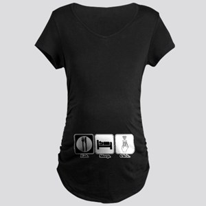 Eat. SLeep. CLick. (Remote Control) Maternity Dark