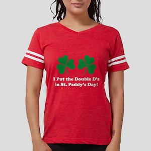 Double D's St. Paddy's Day Women's Dark T-Shirt