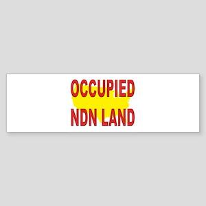 Occupied NDN Land Sticker (Bumper 10 pk)