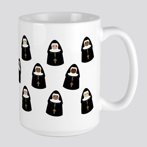 Cute Nuns Mugs