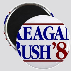REAGAN BUSH 84 Political Election Retro Re Magnets