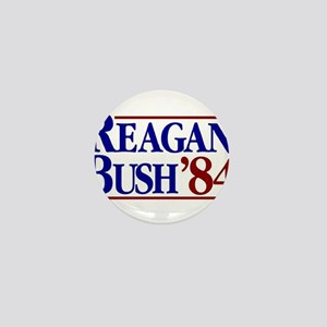 REAGAN BUSH 84 Political Election Retr Mini Button