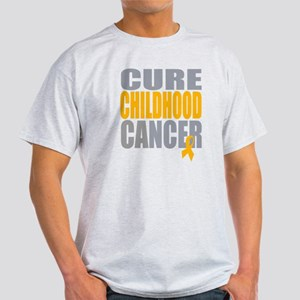 Cure Childhood Cancer Light T-Shirt