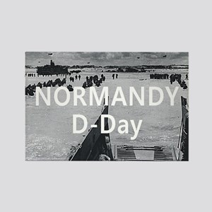 Normandy Americasbesthistory.com Rectangle Magnet