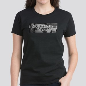 Normandy Americasbesthistory. Women's Dark T-Shirt