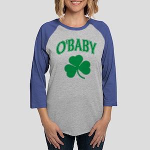 OBaby Irish Shamrock Long Sleeve T-Shirt