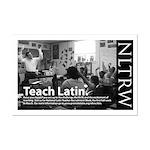 Teach Latin NLTRW Mini Poster Print