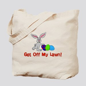 Get Off My Lawn Tote Bag