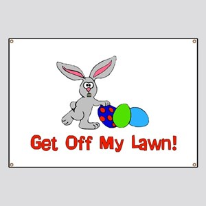 Get Off My Lawn Banner
