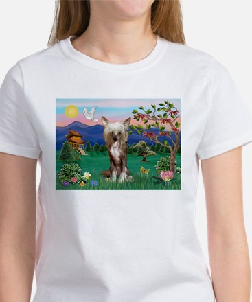 Pagoda/Chinese Crested Women's T-Shirt