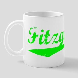 Vintage Fitzgerald (Green) Mug