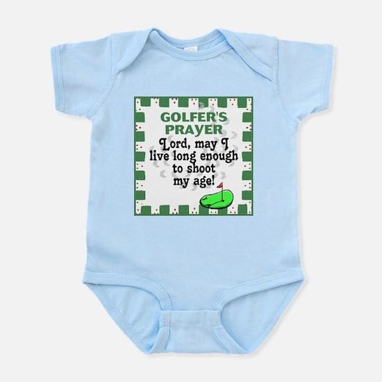 Golfer's Prayer Infant Creeper